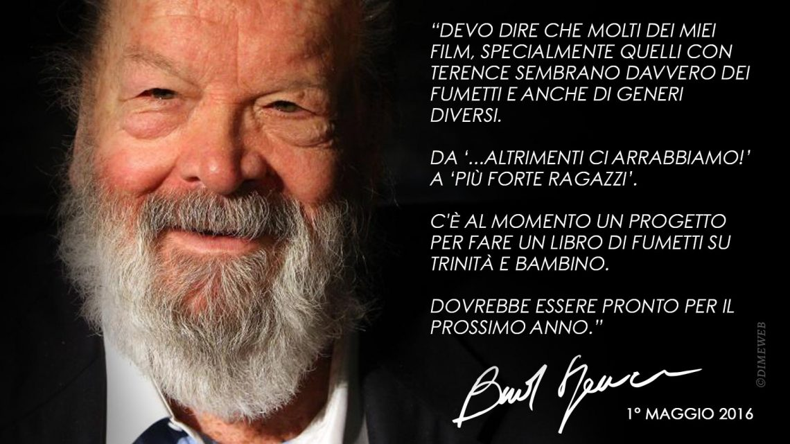 bud spencer intervista fumetto web
